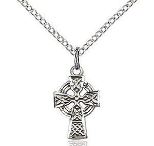 Celtic Cross in Sterling Silver or Gold Filled
