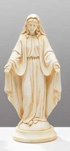 "8"" Ivory Statue of Our Lady of Grace"