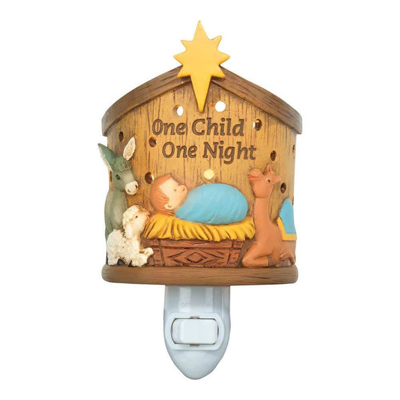 One Child One Night Nativity Night Light