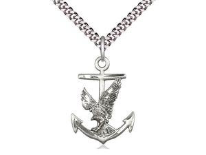 Anchor Crucifix or Eagle Anchor
