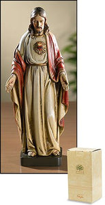 "Sacred Heart of Jesus 8"" Statue"