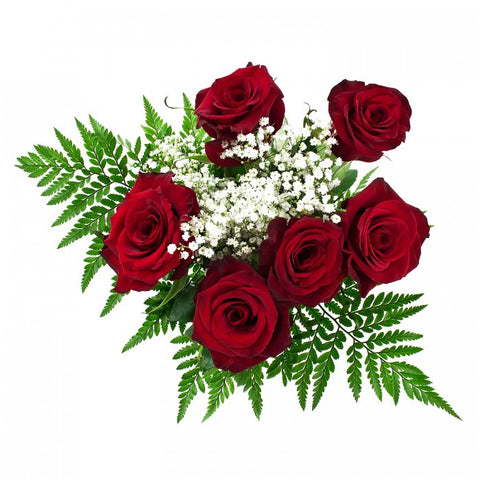 6 Stem Red Roses - Pre Order Pick Up At Store