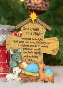 One Child One Night Tabletop Cross