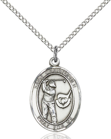 Patron Saint Golf Sports Medal