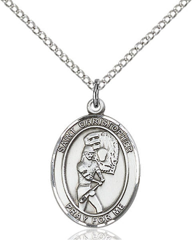 Patron Saint Softball Sports Medal