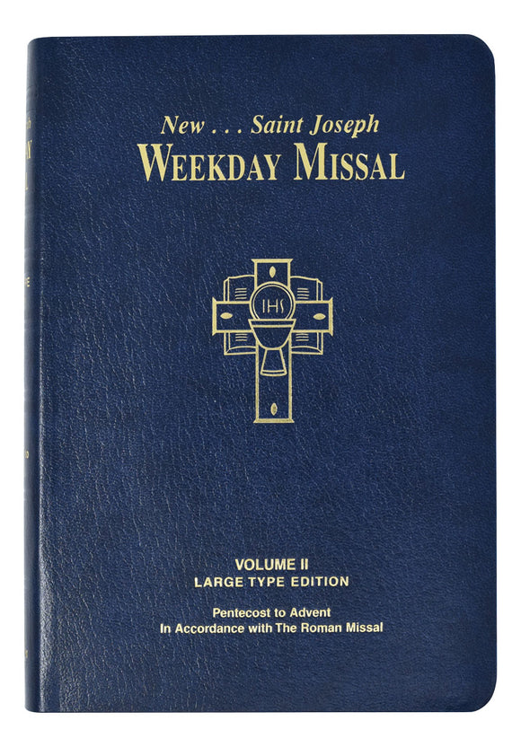 New Saint Joseph Weekday Missal Large Print Vol II