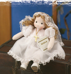 Mary First Holy Communion Doll