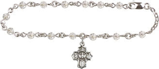 Rosary Bracelet with 5 Way Medal