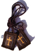 CRUSADER BROWN SCAPULAR