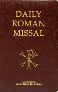 Daily Roman Missal 3rd Edition (Burgundy Bonded Leather)