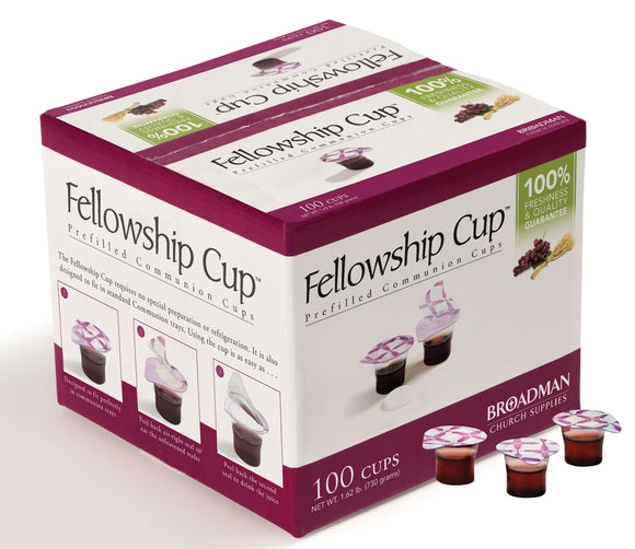 Fellowship Cups with Wafers