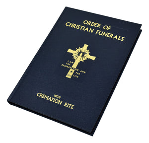 Order of Christian Funerals Leather
