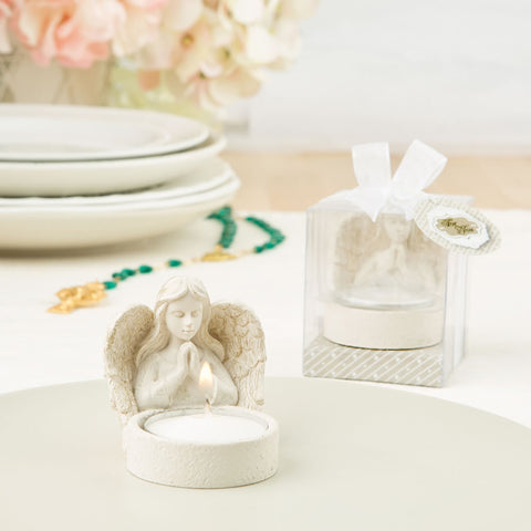 Praying Angel Tea Light