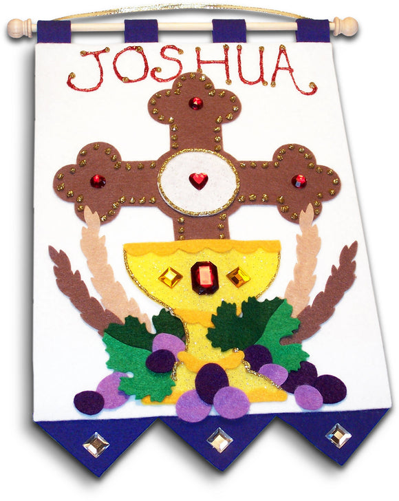 First Communion Banner Kits (CROSS)