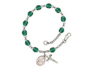 St. Margaret of Scotland Rosary Bracelet