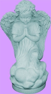 "16"" Kneeling Angel (Granite)"