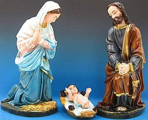 Nativity Holy Family (Starter Set) 25 inches high
