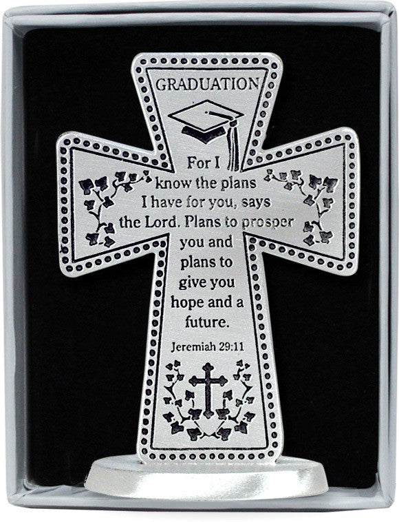 Graduation I know the plans I have for you cross