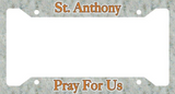 Catholic License Plate & Plate Frames