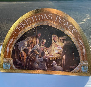 Large Nativity Plaque
