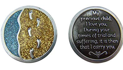 Footprints Pocket Coin
