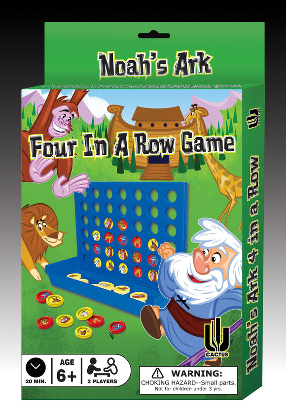 Four in a Row Game Noah's Ark