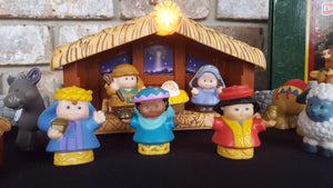 Fisher-Price Deluxe Christmas Story Nativity Set