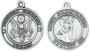 Army / St. Christopher Medal