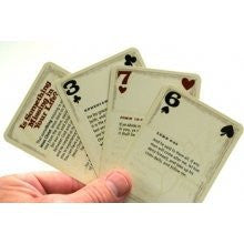 Suits of Armor Playing Cards; KJV