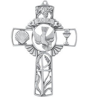 "RCIA Pewter 6"" Cross"