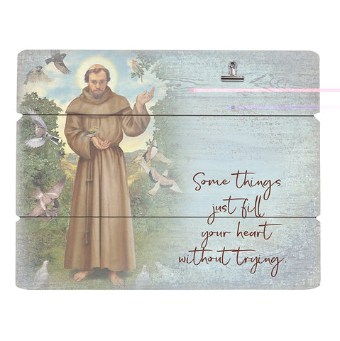 Pallet Picture of St. Francis