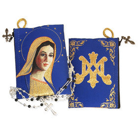 Virgin Of Grace Rosary Pouch