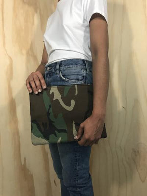 love, cortnie | Camo Clutch
