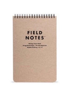 Field Notes | 80 Page Steno Book