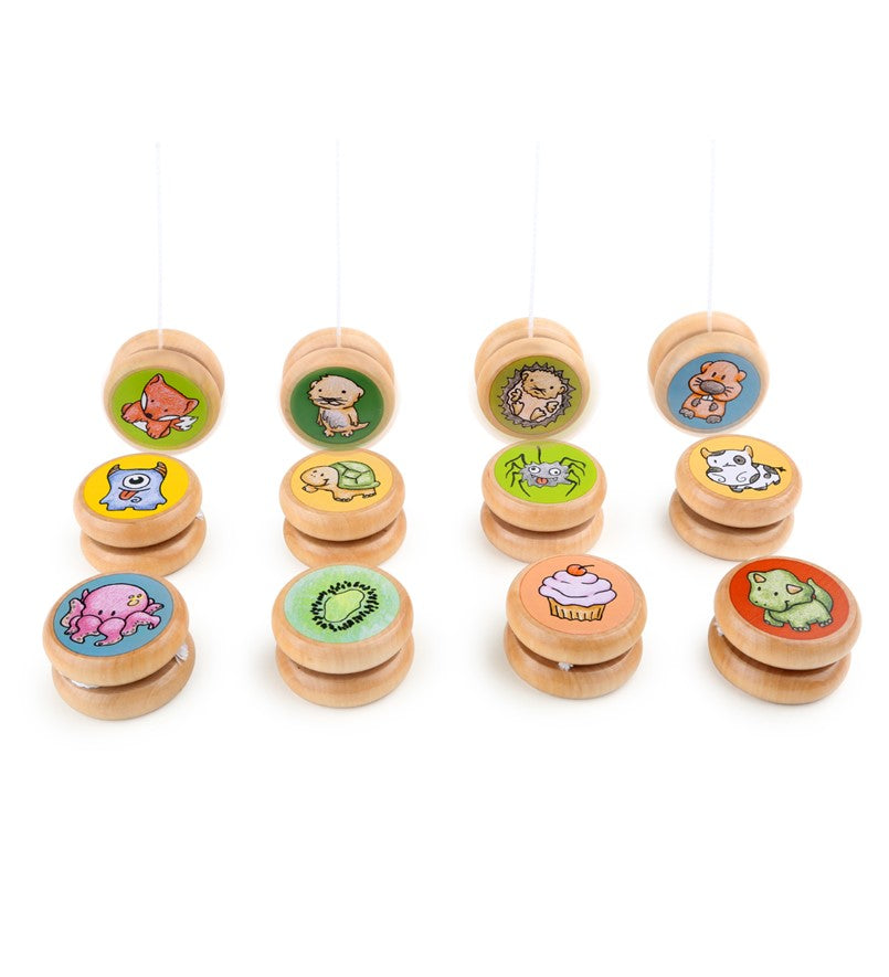 Wooden Yo-Yo Toy