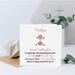 Personalised 1st Birthday Card - Button Head Family