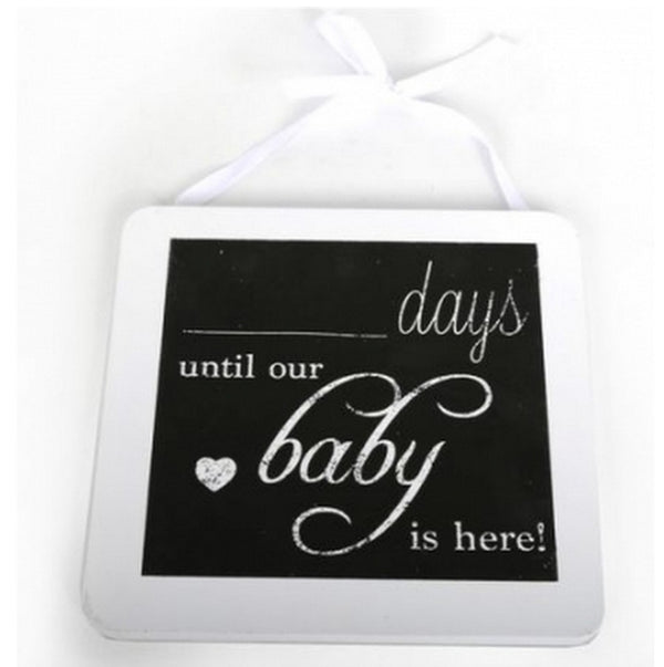 Baby Countdown Chalk Board