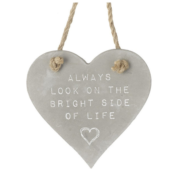 Look on the Bright Side of Life - Ceramic Plaque