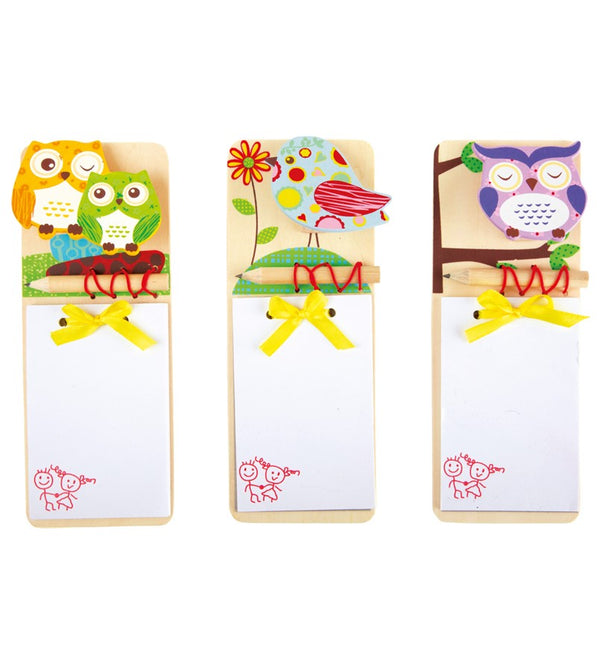 Magnetic Wooden Notepads