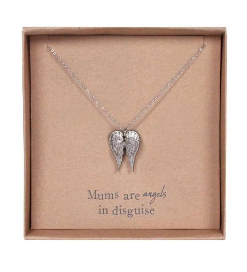 Mums are Angels in Disguise Necklace Gift Set