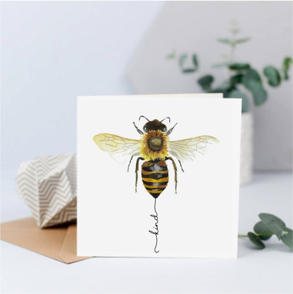 Bee Picture Card - Various