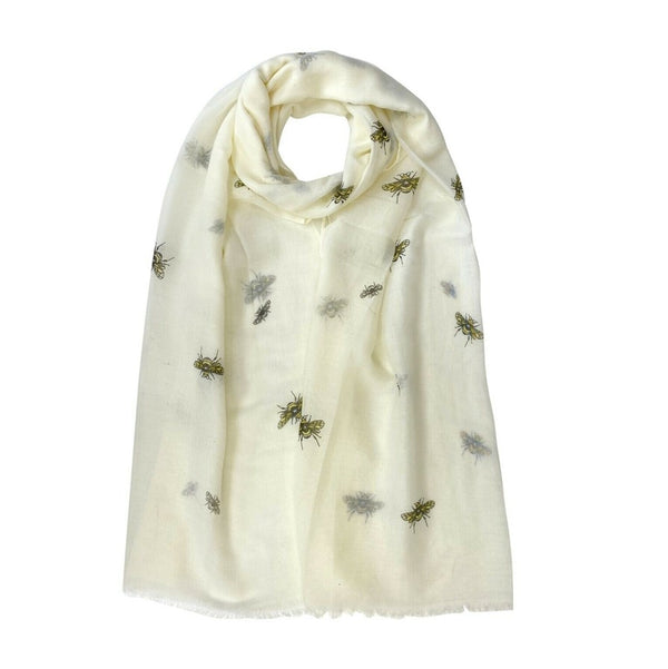 Bee Design Scarf - Various Colours