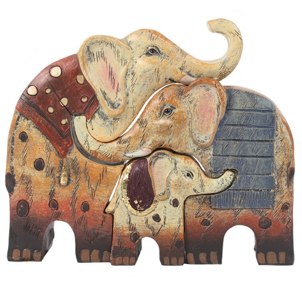 Elephant Family Set of Three