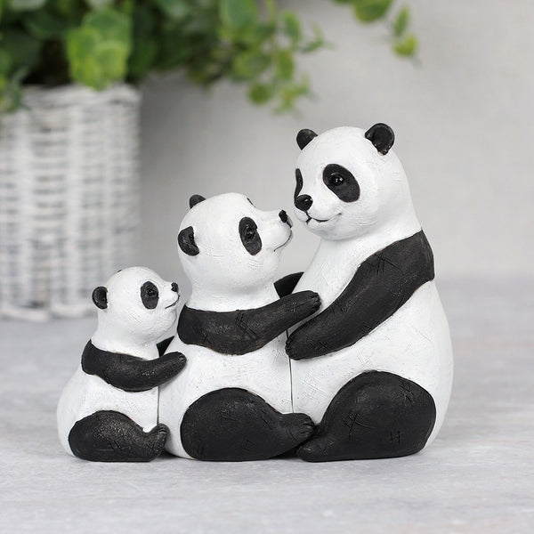Panda Family Ornament