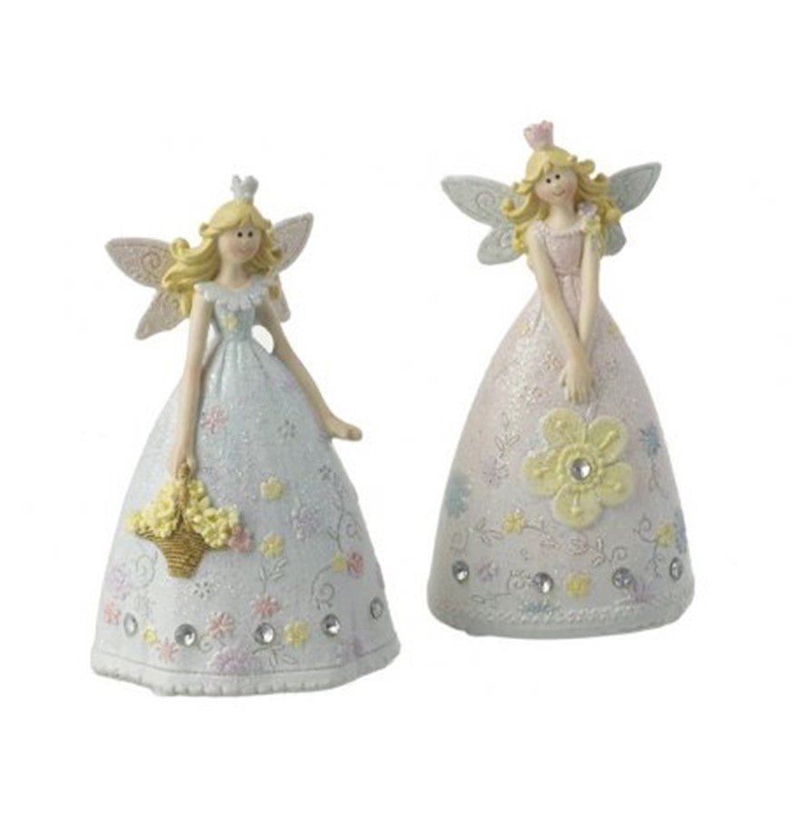 Glittered Fairy Ornament