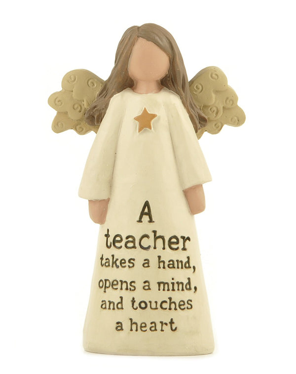 Teacher takes a hand - Angel Figurine