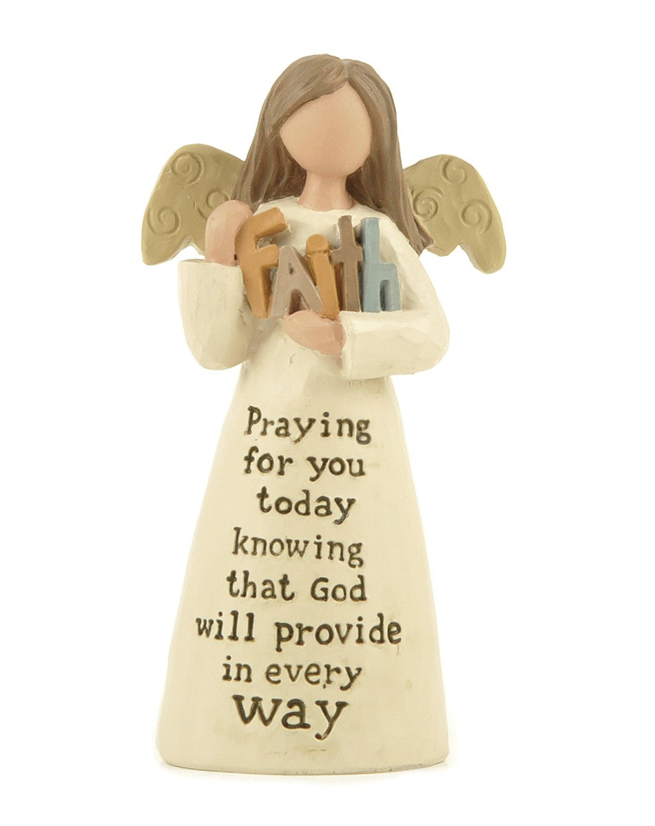 Praying for you today  - Angel Figurine
