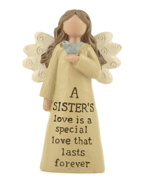 A Sister's love lasts forever - Angel Figurine