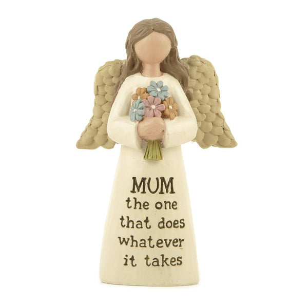 Mum, the one that does whatever - Angel Figurine