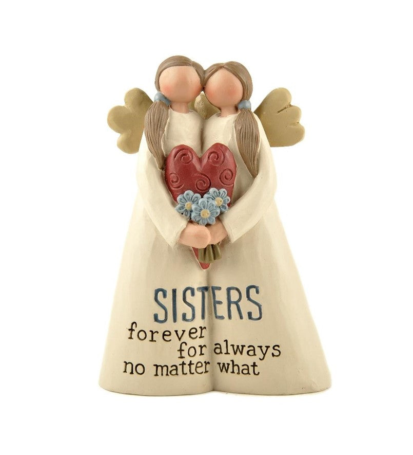 Sisters Forever - Angel Figurine